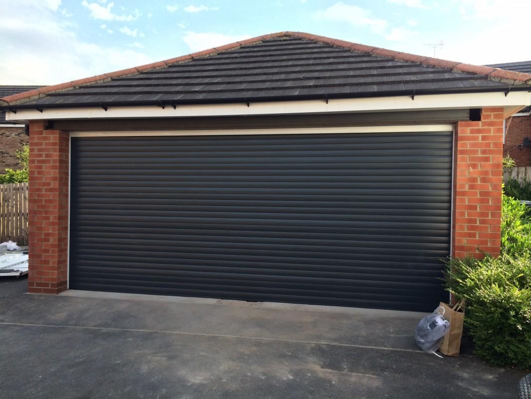 Black Garage Doors Home Depot Garage Doors Installed